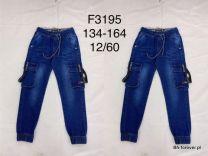 JEANSY CHŁOPIĘCE (134-164) F3195
