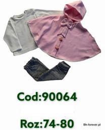 KOMPLET DZIECIĘCY 3 CZĘŚCIOWA (ODZIEŻ TURECKA) (74-80) 90064
