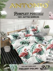 KOMPLET POŚCIELI 3-CZĘŚCIOWEJ 220x200cm 1902