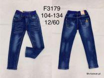 JEANSY CHŁOPIĘCE 104-134 F3179