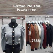 SWETER DAMSKI S/M-L/XL LL7888
