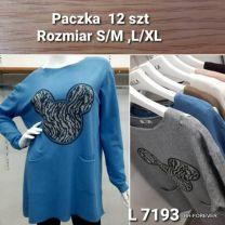 TUNIKA DAMSKA (S/M-L/XL) L7193
